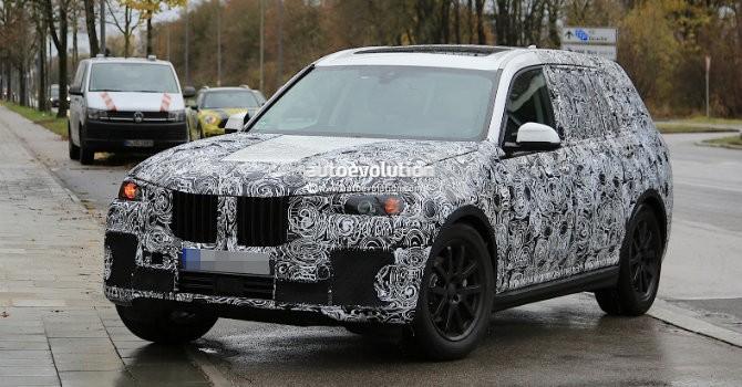 BMW X7 lộ diện trên đường thử