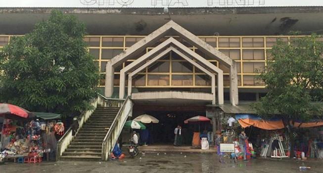 Có hay không việc bán chợ Hà Tĩnh cho doanh nghiệp?