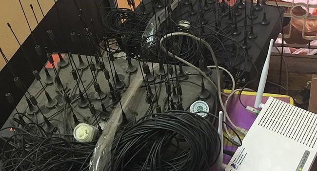 Triệt phá đường dây sử dụng SIM ảo trộm cắp cước viễn thông quốc tế