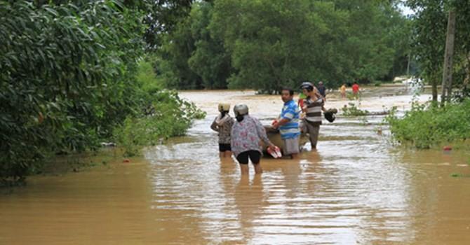 Cảnh báo nguy cơ có lũ từ Quảng Trị đến Bình Định