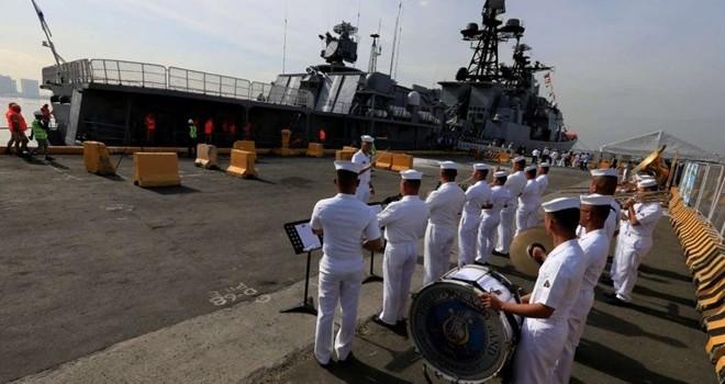 Nga lần đầu tiên điều tàu chiến tới Philippines tập trận hải quân