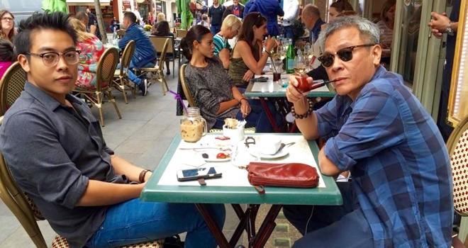 Từ vỉa hè Sài Gòn nhìn sang vỉa hè Paris, London
