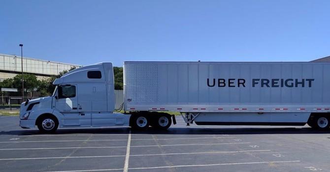 Uber lấn sân sang lĩnh vực xe tải