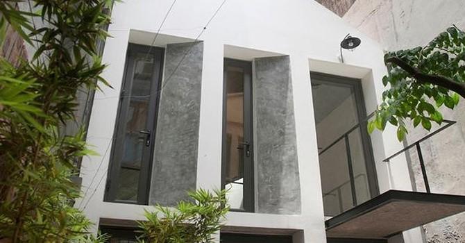 Căn nhà nhỏ đẹp lạ trong ngõ tại Hà Nội