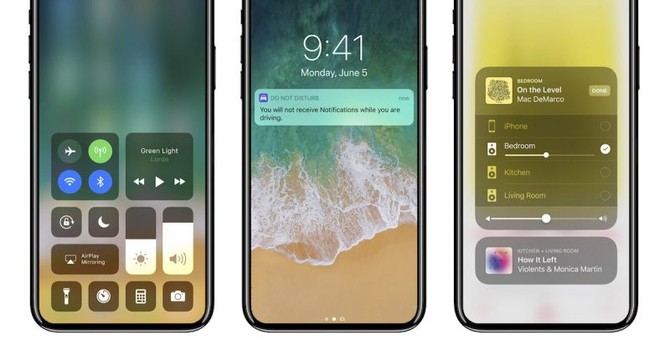 iPhone 8 không còn cảm biến vân tay Touch ID