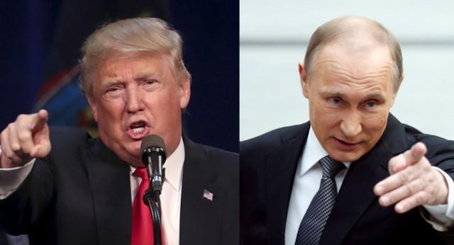 """Tổng thống Mỹ Donald Trump: """" Ông Putin vui hơn nếu bà Clinton làm Tổng thống Mỹ"""""""