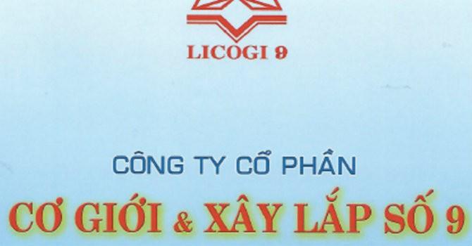 Licogi 9 bị phạt 40 triệu đồng