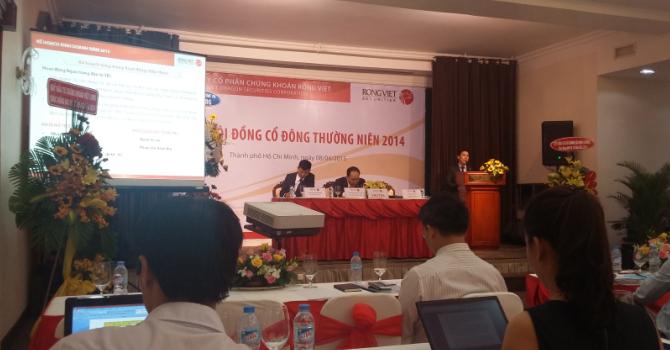 Chứng khoán Rồng Việt đặt mục tiêu năm 2015 hết lỗ lũy kế