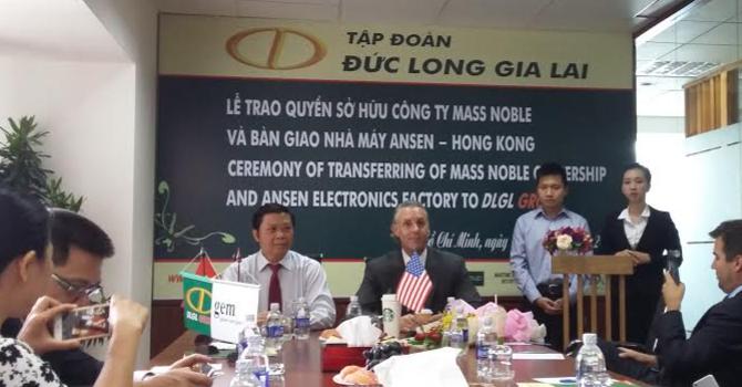 Đức Long Gia Lai sẽ mở nhà máy linh kiện điện tử
