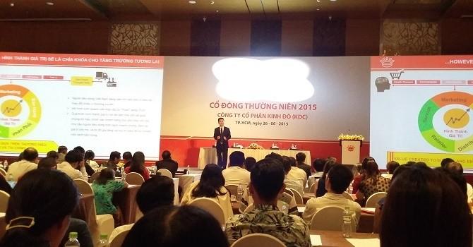 ĐHĐCĐ Kinh Đô: Đổi tên thành Tập đoàn Kido