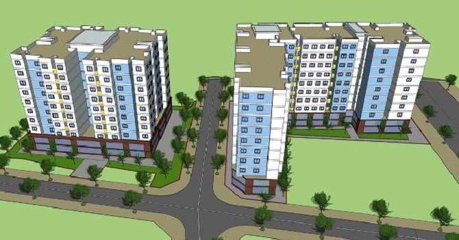 HQC sắp khởi công dự án nhà ở xã hội tại Bình Chánh