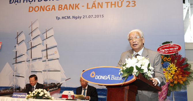 ĐHĐCĐ DongA Bank: Đàm phán sáp nhập với AnBinh Bank bất thành