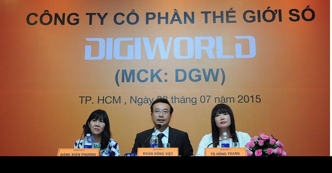 Digiworld: Giá chào sàn 52.000 đồng/cổ phiếu có quá cao?