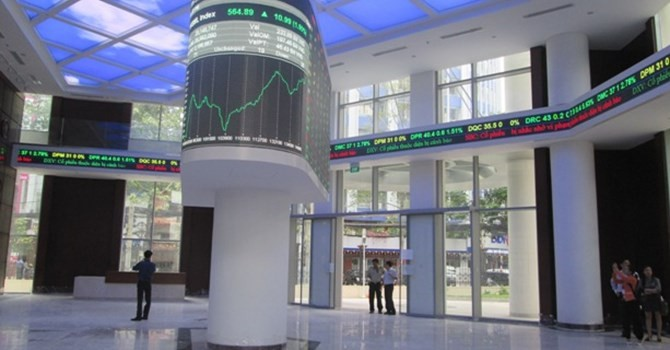 Ngày 24/10, lần đầu tiên thị trường Việt có chỉ số chứng khoán chung