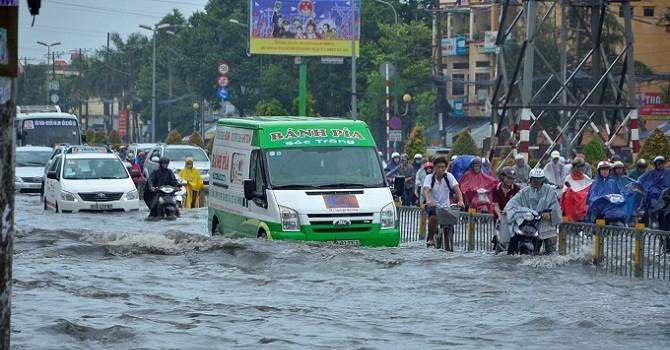 TP. HCM kiến nghị Trung ương ưu tiên cho các dự án chống ngập