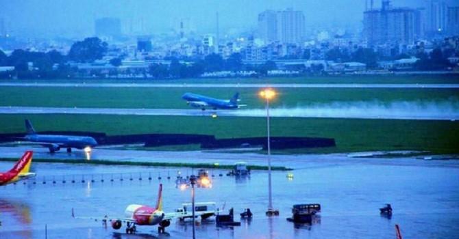 """TP.HCM """"thúc"""" giải quyết chống ngập tại khu vực sân bay Tân Sơn Nhất"""