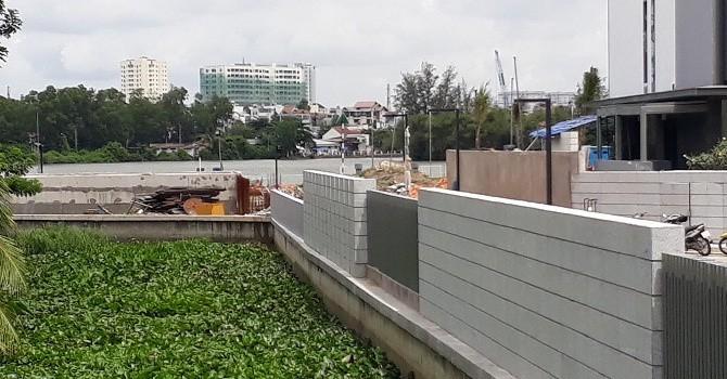 """Chủ đầu tư dự án sai phạm lấn sông Sài Gòn: """"Đã nộp phạt và đề nghị không cưỡng chế tài khoản tại VIB"""""""