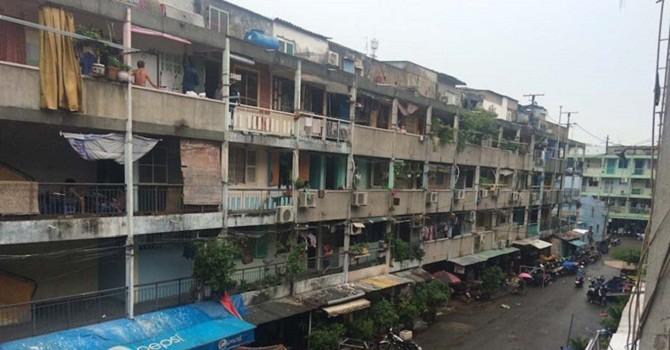 TP.HCM: Di dời khẩn cấp các hộ dân sống ở chung cư hư hỏng nặng tại 2 quận trung tâm