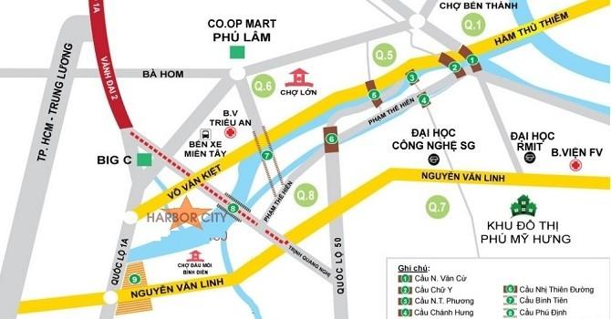 TP.HCM: Tiếp tục xây cầu Bình Tiên theo hình thức BT