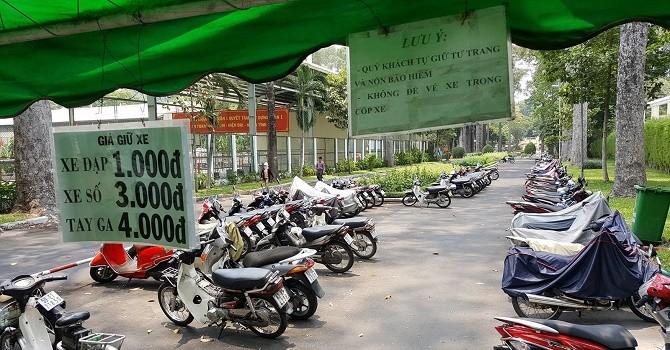 TP.HCM: Chấm dứt hoạt động các bãi giữ xe trên vỉa hè ngay trong quý I/2018