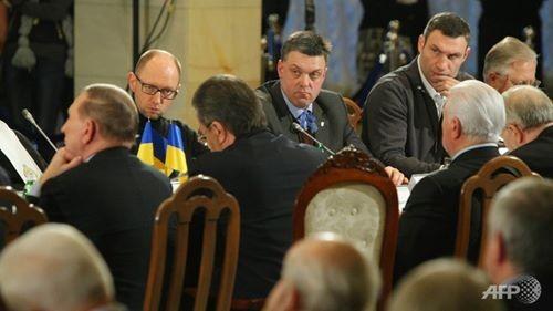 Ukraina: Tổng thống và lực lượng đối lập bắt đầu đàm phán