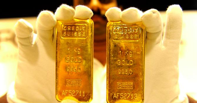 Giá vàng chốt tuần tăng 1,7%
