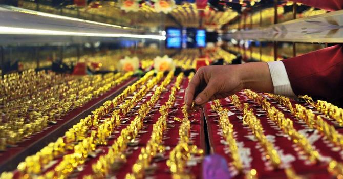 Giá vàng tăng mạnh nhất 3 tháng khi Trung Quốc phá giá đồng nội tệ lần 2