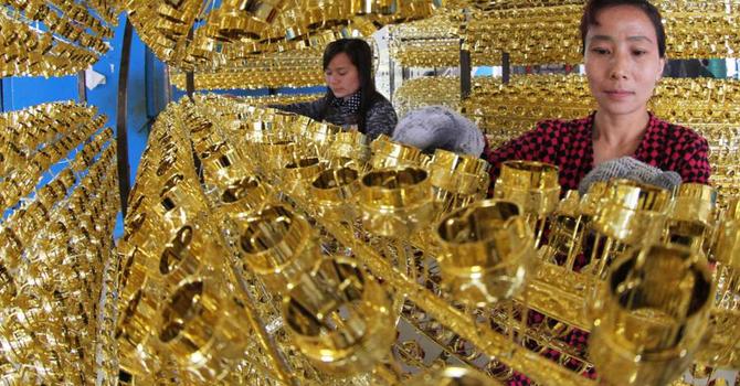 Giá vàng chốt lại tuần giảm 0,1%