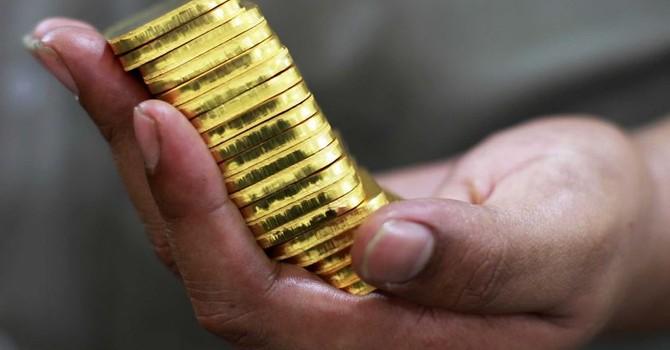 """Giá vàng """"kẹt"""" tại đáy 8 tháng"""