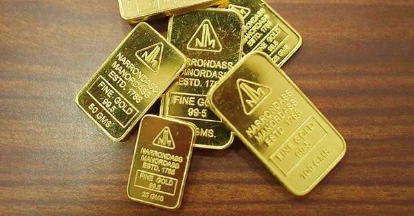 Vàng rớt giá phiên thứ 5 liên tiếp