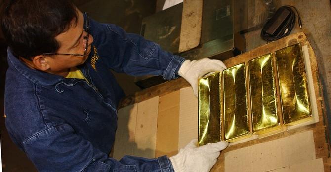 Giá vàng giảm tuần thứ 4 trong 5 tuần
