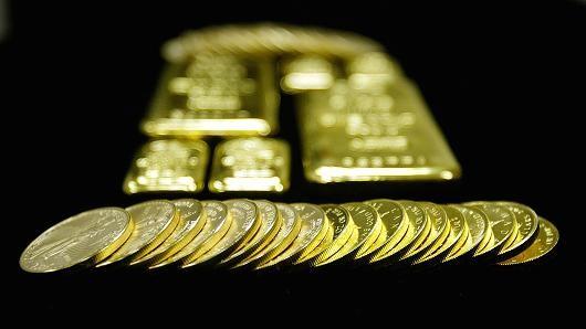 Giá vàng tăng phiên thứ 3 liên tiếp vì USD suy yếu