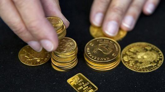 Giá vàng chốt tuần tăng thứ 5 liên tiếp