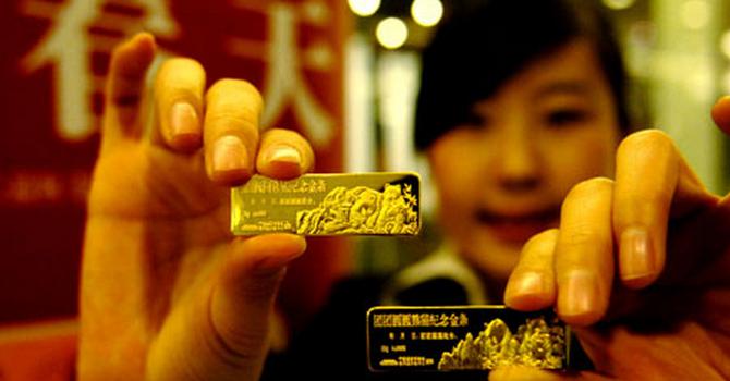 Đầu năm, giá vàng đạt đỉnh 2 tuần