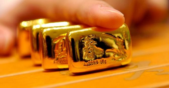 Giá vàng lập đỉnh 2 tuần