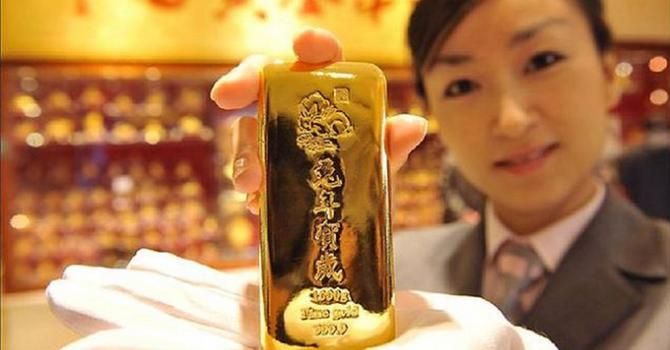 Giá vàng chốt tuần giảm 0,8%