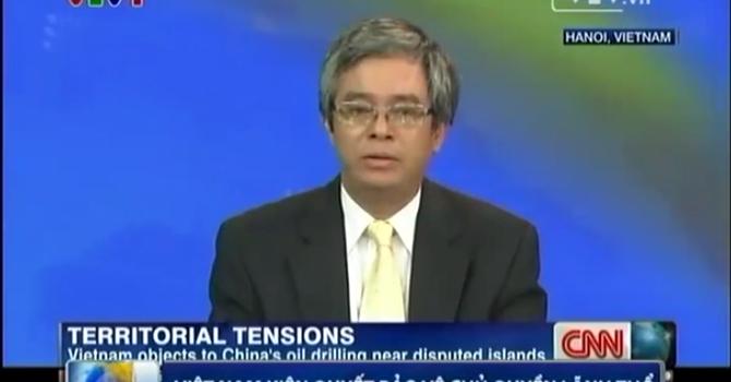 [VIDEO] Thứ trưởng Phạm Quang Vinh phản đối Trung Quốc trên đài CNN