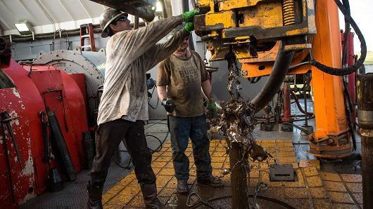 Giá dầu Brent giảm vì giông bão