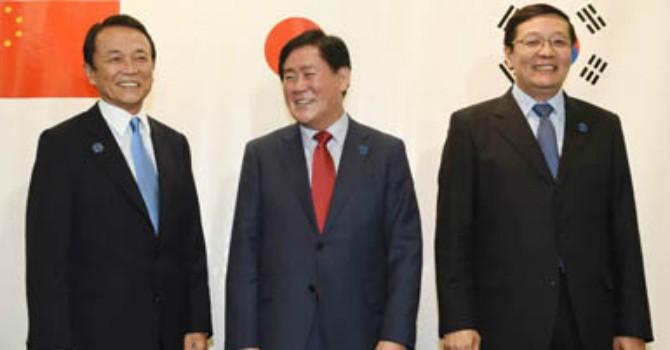 Hàn Quốc, Trung Quốc và Nhật Bản đạt nhất trí về chính sách tiền tệ