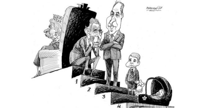 Biếm họa tuần qua: Nước Anh hân hoan chào đón công chúa nhỏ