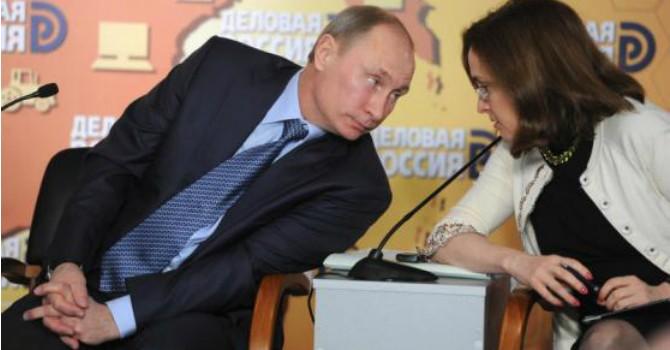 """Ngân hàng Trung ương Nga """"hãm cương"""" đà tăng đồng Rúp"""