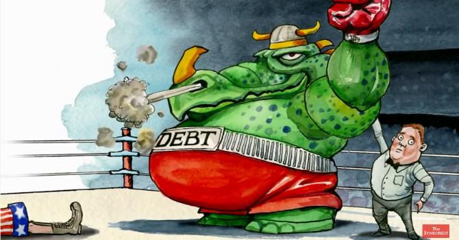 Kinh tế qua hoạt hình: Đừng nhầm nợ với thâm hụt