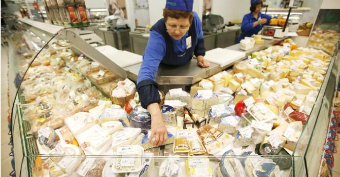 """Nga tính tháo """"gông"""" trừng phạt cho thực phẩm châu Âu"""