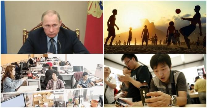"""Thế giới 24h: Ông Putin bênh Chủ tịch FIFA, Trung Quốc là """"chĩnh vàng"""" của Apple"""