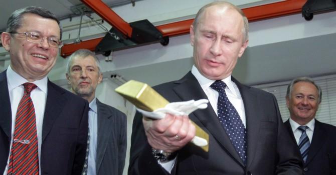 Nga tuyên bố tăng cường gom vàng