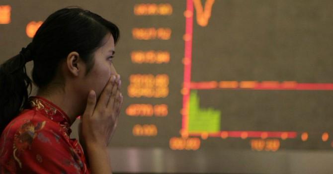 Mất 8,5%, chứng khoán Trung Quốc giảm mạnh nhất 7 năm