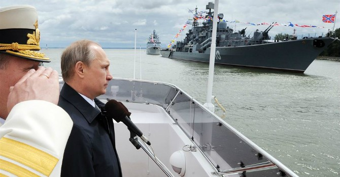 Nga có bao nhiêu tàu chiến trên các đại dương?
