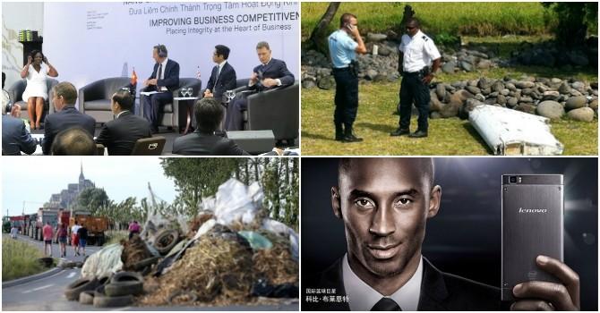 Thế giới 24h: Phát hiện mảnh vỡ nghi của MH370, Nga bác đề xuất lập tòa án cho vụ MH17