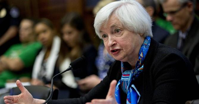 """Đồng USD tăng giảm đan xen """"ngóng"""" phát biểu của bà Yellen"""