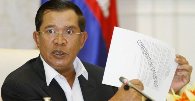 """Ông Hun Sen: """"Tôi tình nguyện ngồi tù nếu bản đồ của Campuchia khác bản đồ Pháp"""""""